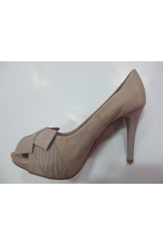 Дамски обувки 133702nude estestvena koja