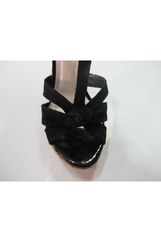 Дамски обувки 134805blk estestvena koja
