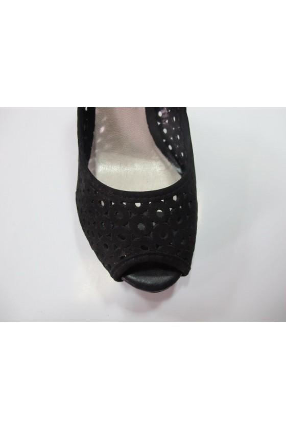 Дамски обувки 133706blk.est.koja