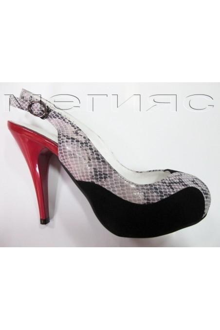 Дамски обувки alice 11-042red