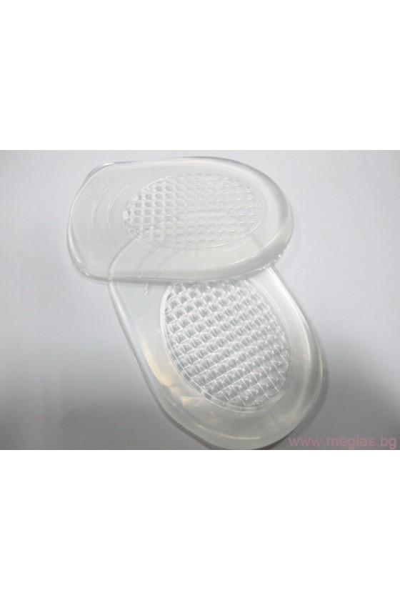 Стелки за обувки силиконови -подложка за мъже на петата -JS-7m