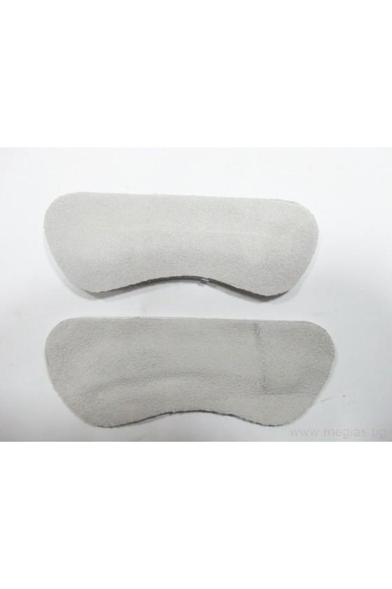 Стелки за обувки предпазни лепенки естествена кожа HB-NB