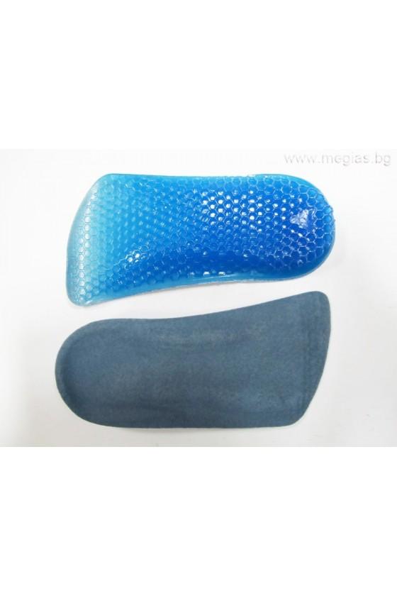 Силиконови стелки за обувки лечебен гел WXB-03m