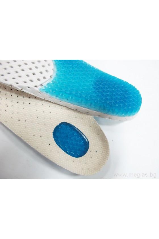 Дишащи стелки за обувки абсорбиращи миризма 025-M