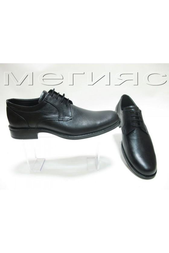 Мъжки обувки Фантазия 10607 черни естествена кожа