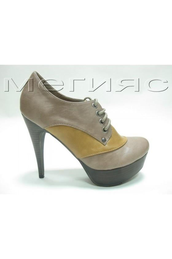 Дамски обувки Negro 13-35305 tan