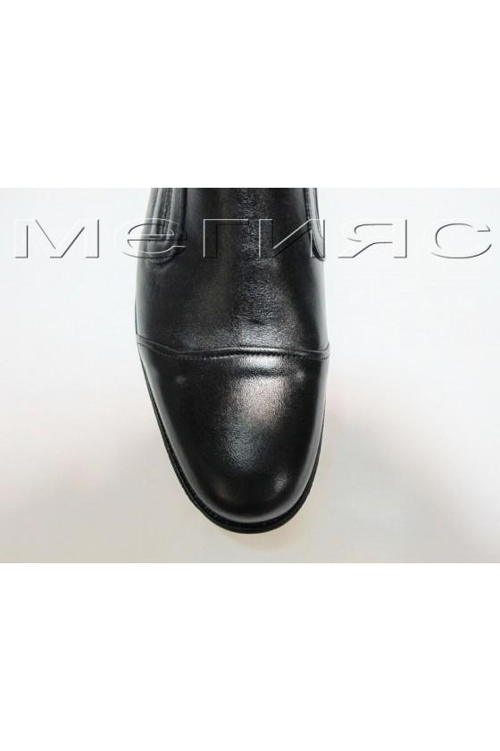 Мъжки обувки Фантазия 10608 черни естествена кожа