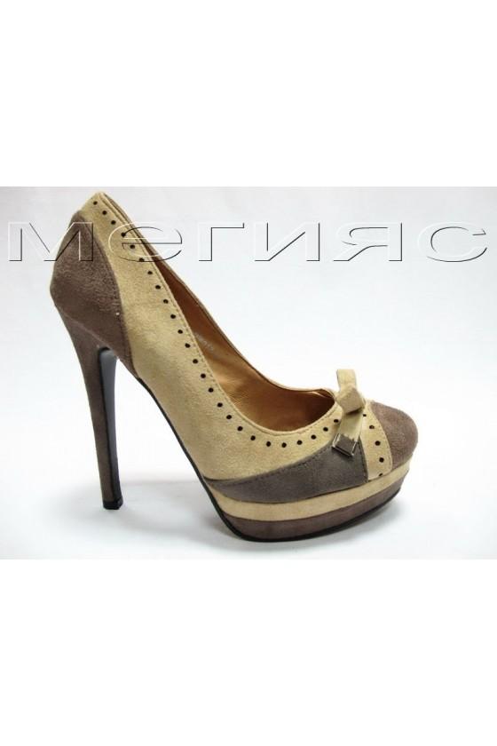 Дамски обувки Alan 13-15 taupe