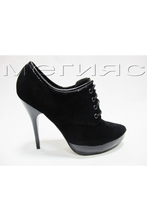 Shirley 13-5590 black velur