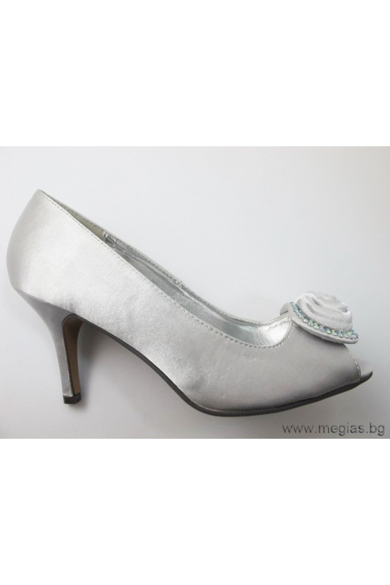 Дамски обувки jeni12-86silver