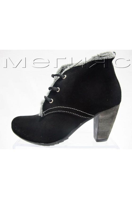 dam. bota 111 black estestven velur