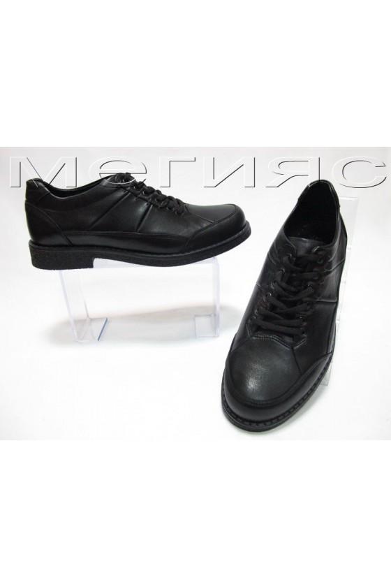 Мъжки обувки Фантазия 404 черни естествена кожа