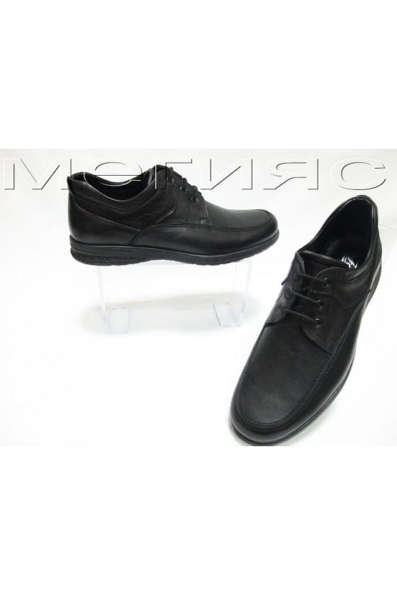 Мъжки обувки Фантазия 901 черни естествена кожа