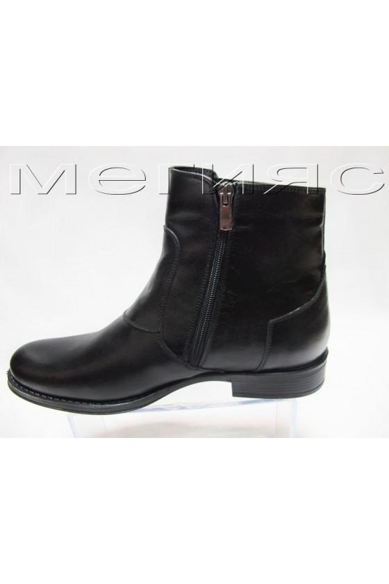 myj.bota Fant.20617 black estestvena koja