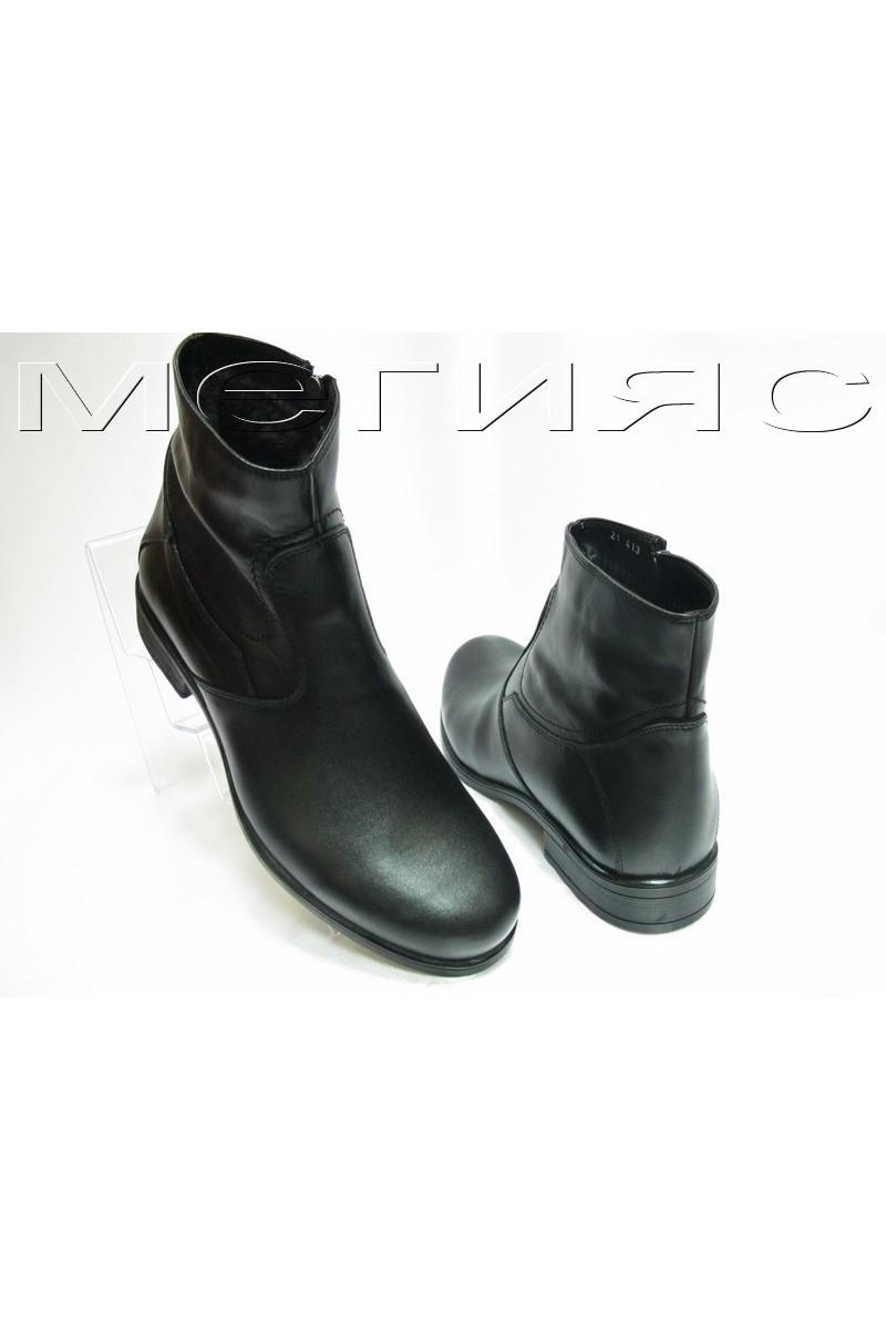 myj.bota Fant.21413 black estestvena koja