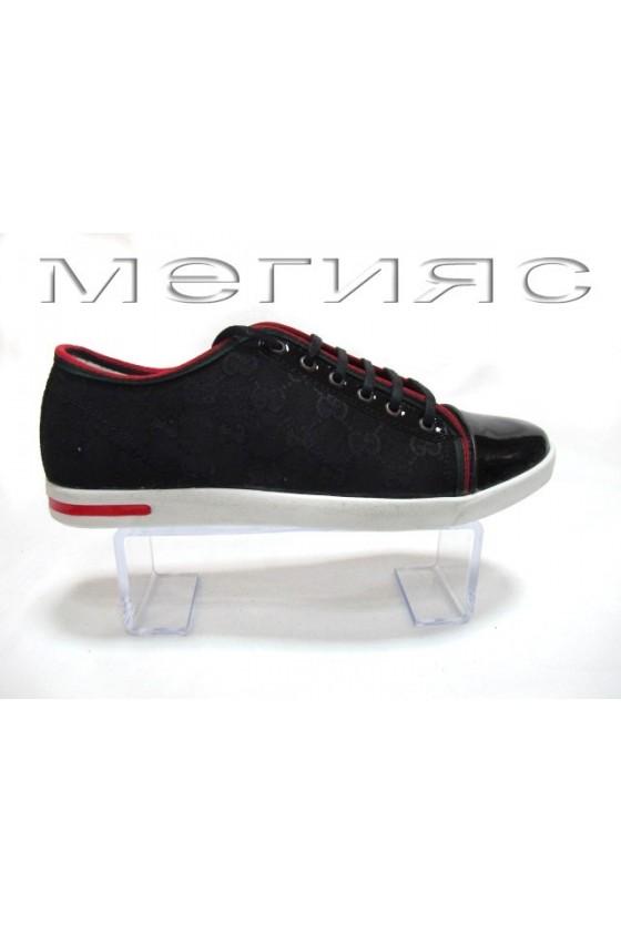 Мъжки обувки Sens.275 черни текстил