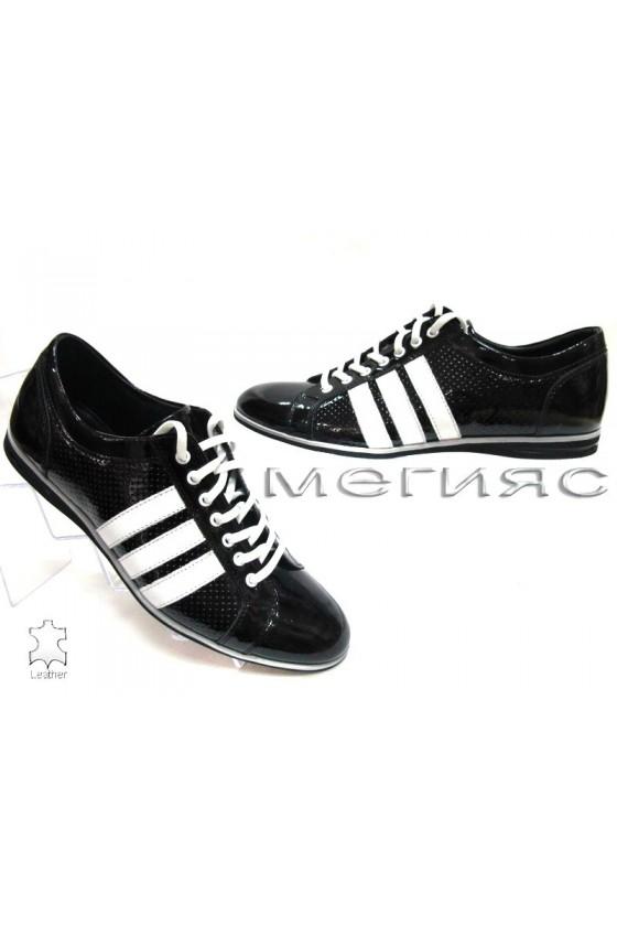 Мъжки обувки Фантазия 8164 черни лак