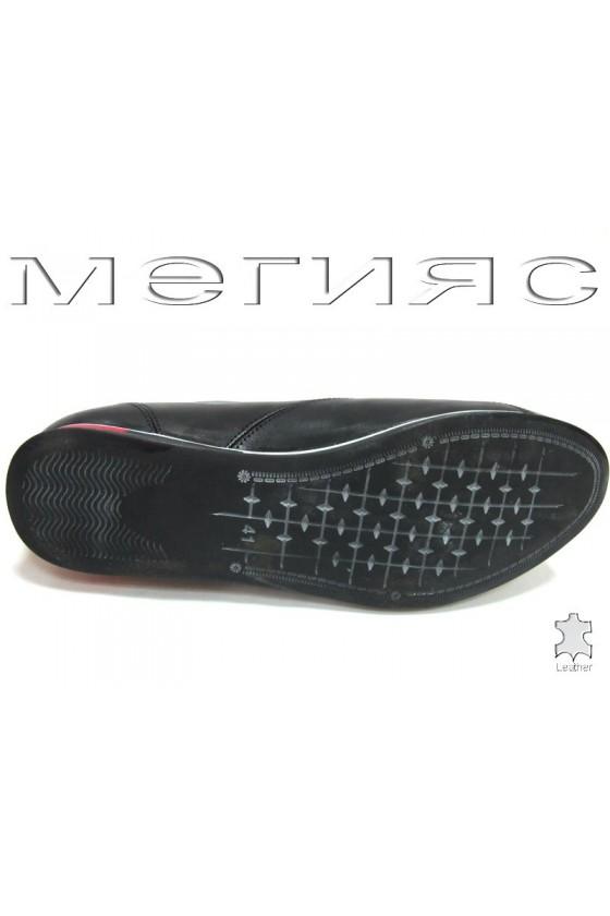 Мъжки обувки Фантазия 8289 черни естествена кожа