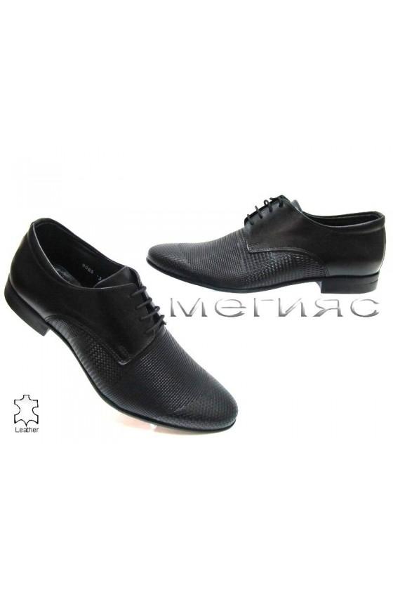 Мъжки обувки Фантазия 8065 черни естествена кожа