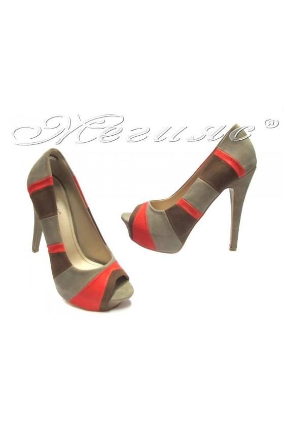Дамски обувки May 45-13-1 beige