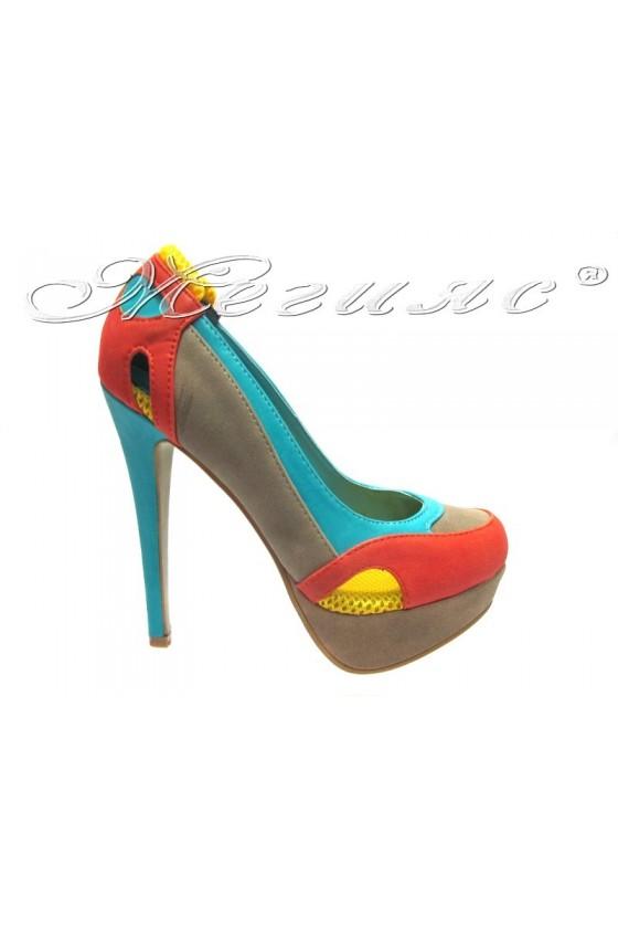 Дамски обувки May 40-13-5 beige