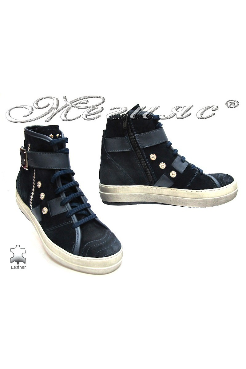 Lady boots 3203 blue