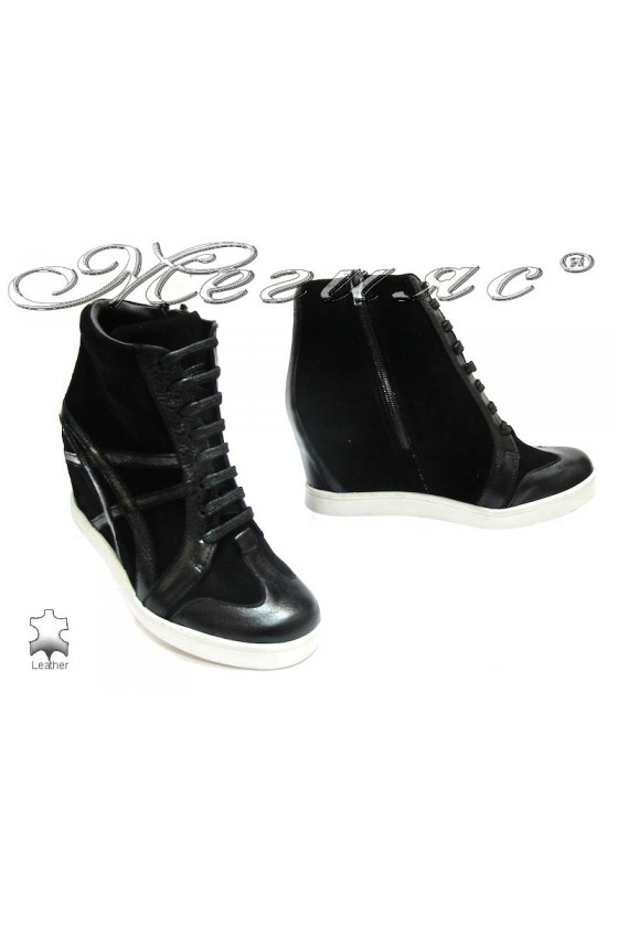 Lady boots 3216 black