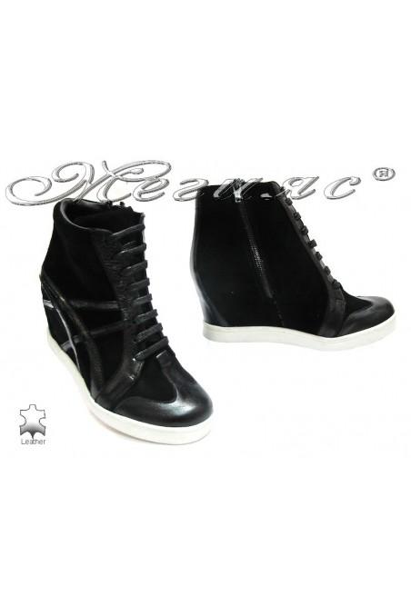 Lady boots 3216 black