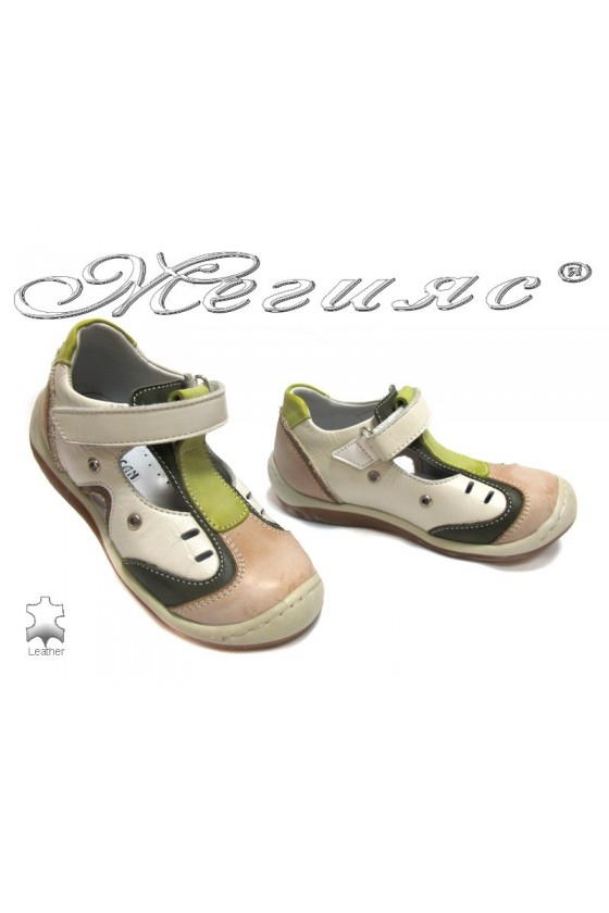 Детски обувки М-10 естествена кожа