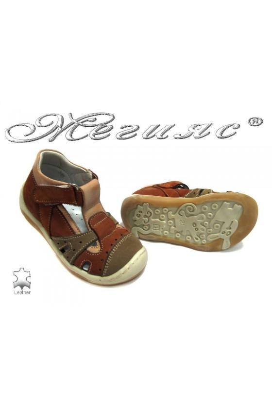 Детски обувки М-20 естествена кожа