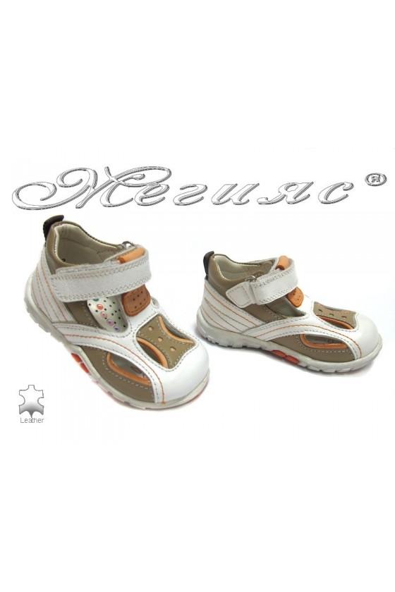 Детски обувки М-3 естествена кожа
