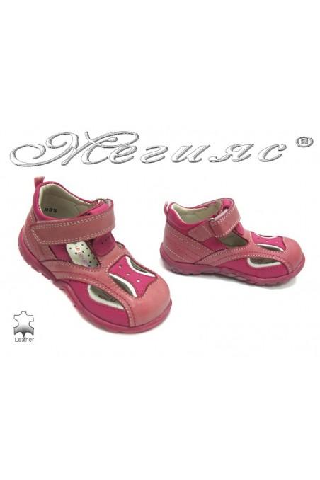 Детски обувки М-4 естествена кожа