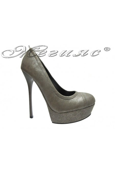 Lady shoes 1428 grey