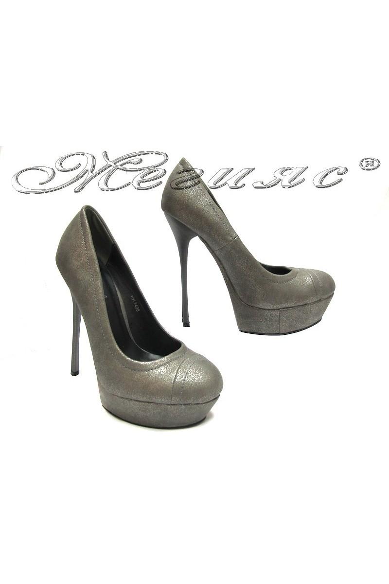 Дамски обувки 1428 сиви