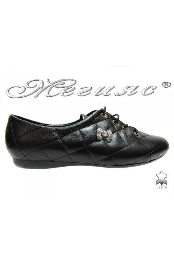 Дамски обувки 07blk естествена кожа