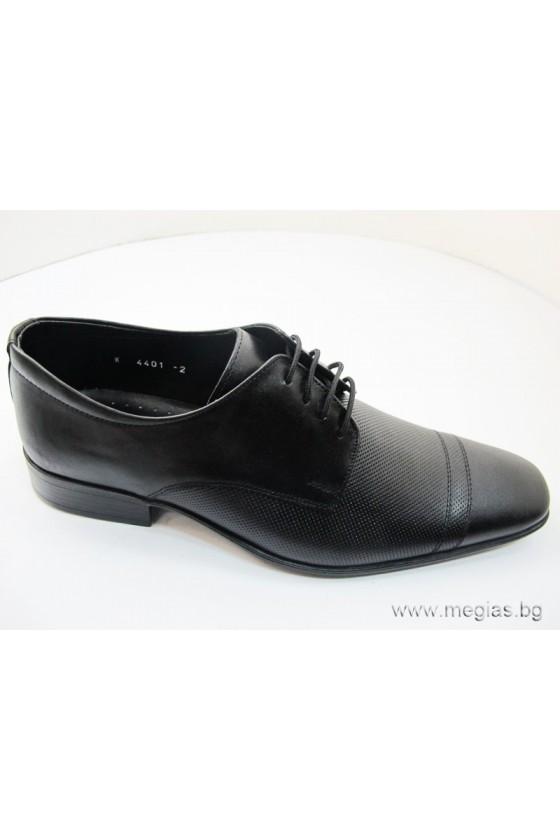 Мъжки обувки Фантазия 4401 точки естествена кожа