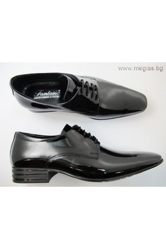 Мъжки обувки fant.83lak-estestvena koja