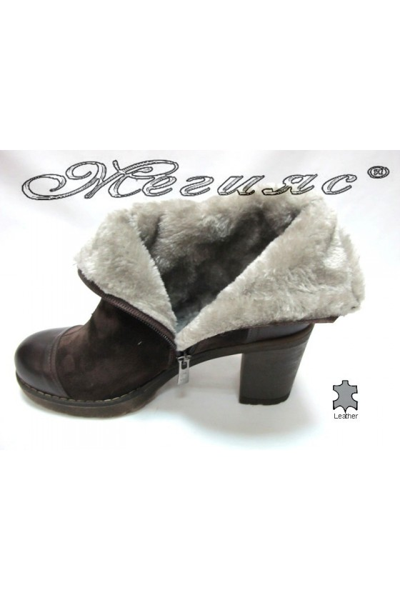 Lady  boots 101 brown