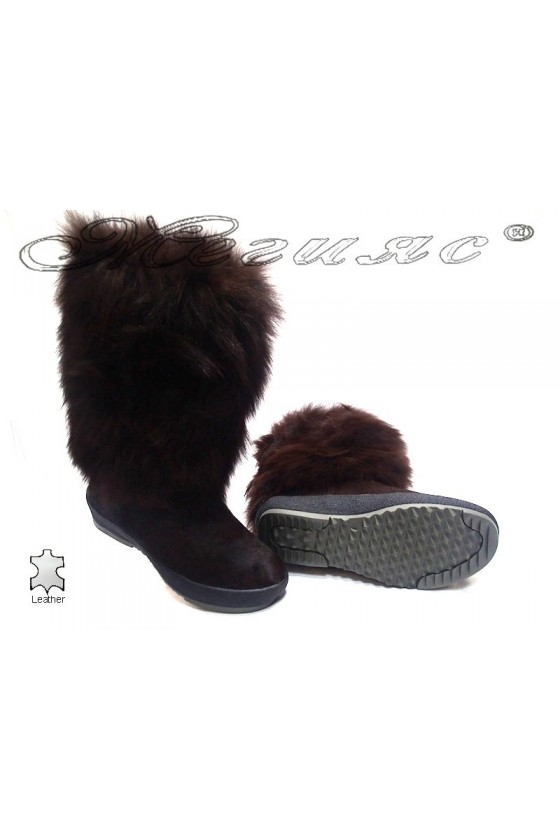 Lady boots 112 brown