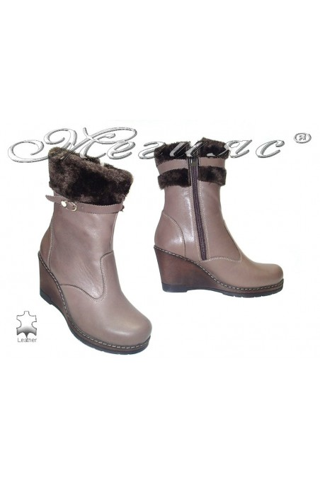 Lady boots 045 beige