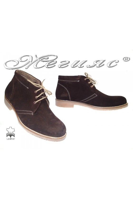 Men's boots 78 brown