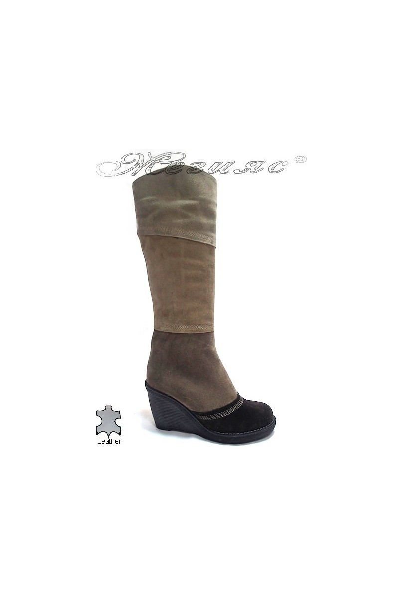 Lady boots 3316 beige