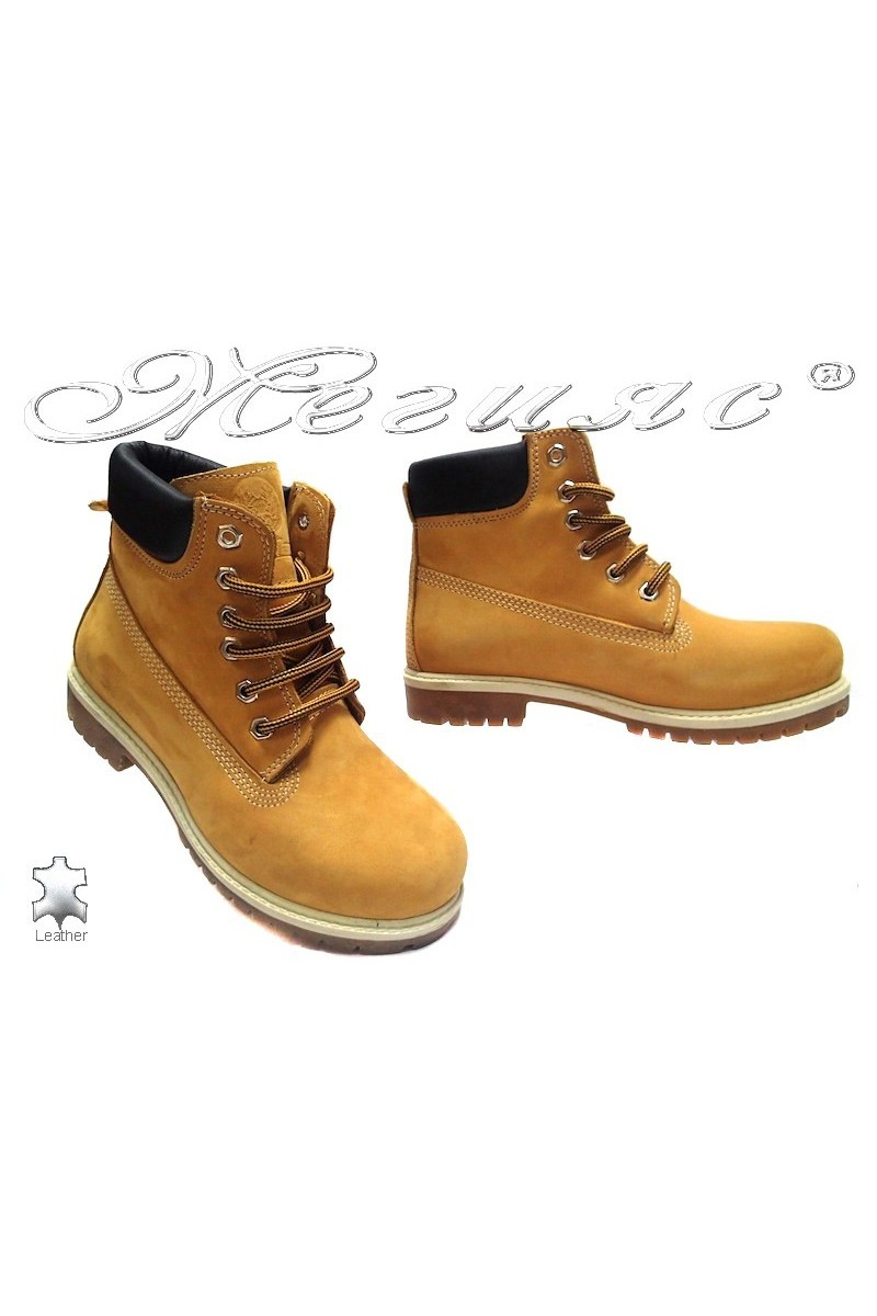 Men's boots 01 yellow