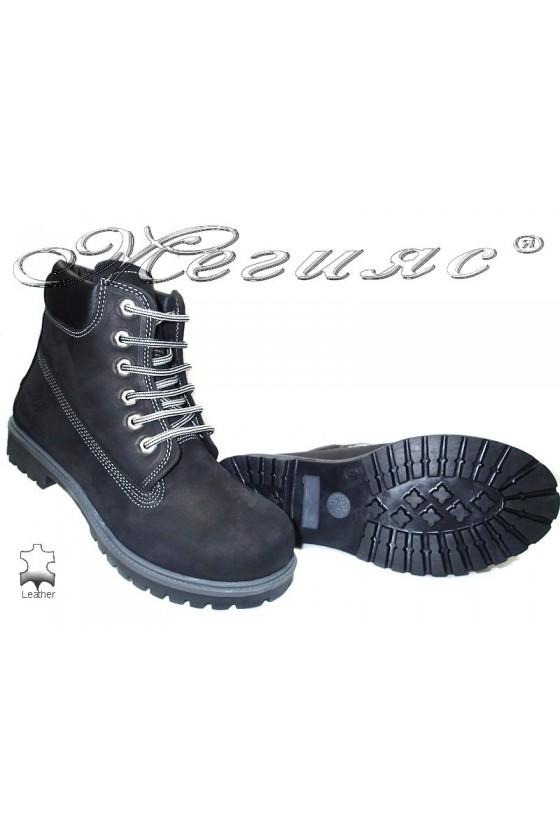 Men's boots 01 black