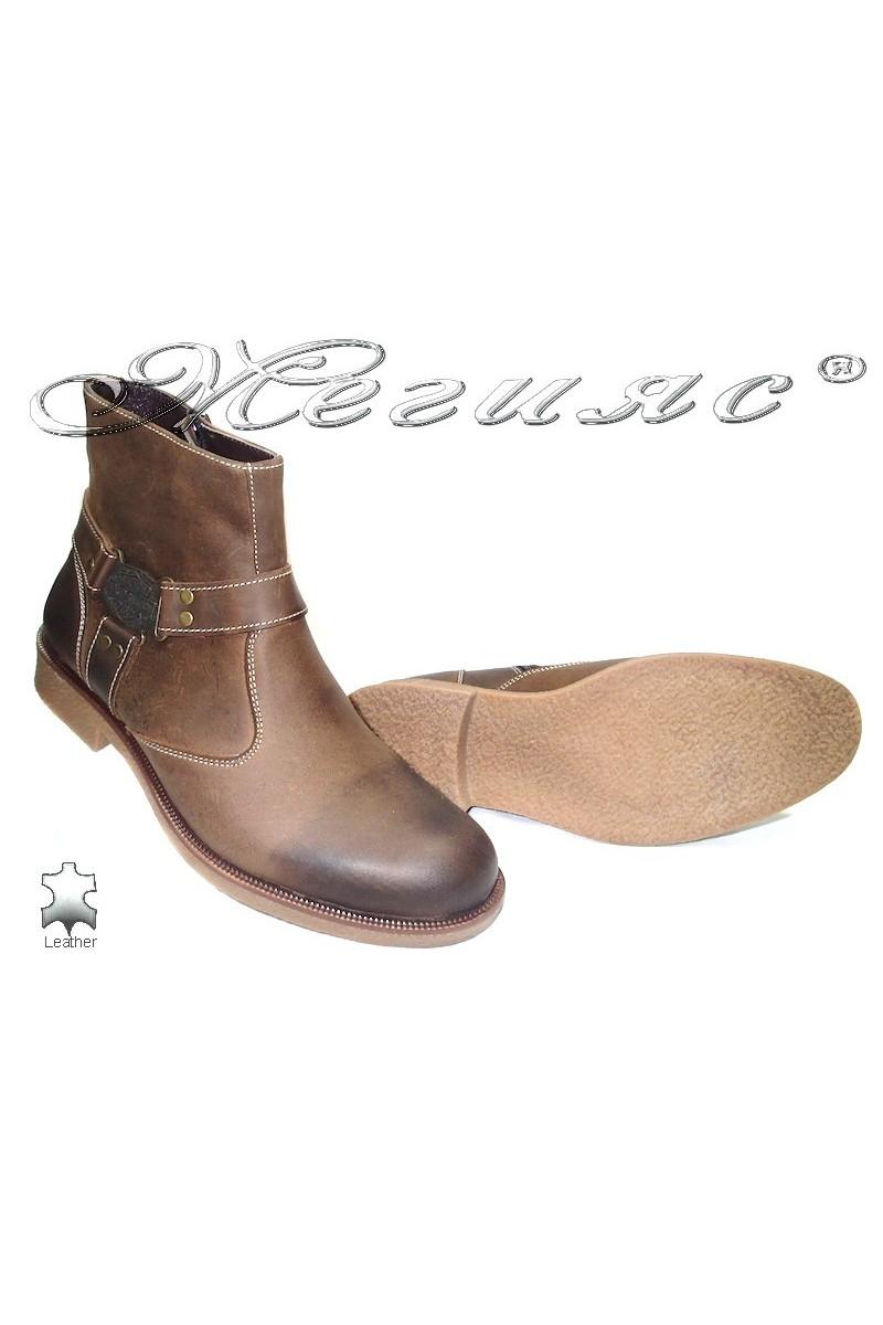 Men's boots 105 brown
