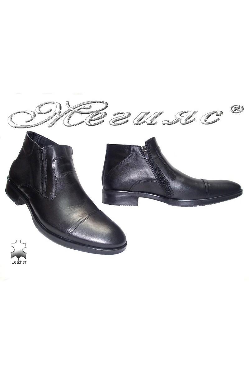 men's boots 9623 black