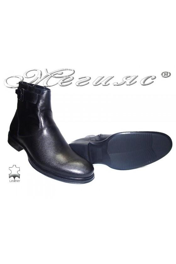 men's boots 9660 black