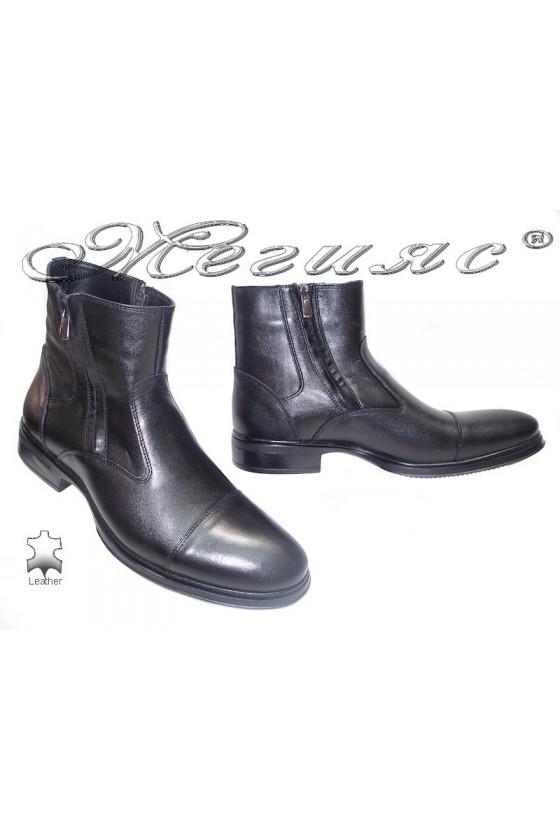 men's boots 9662 black