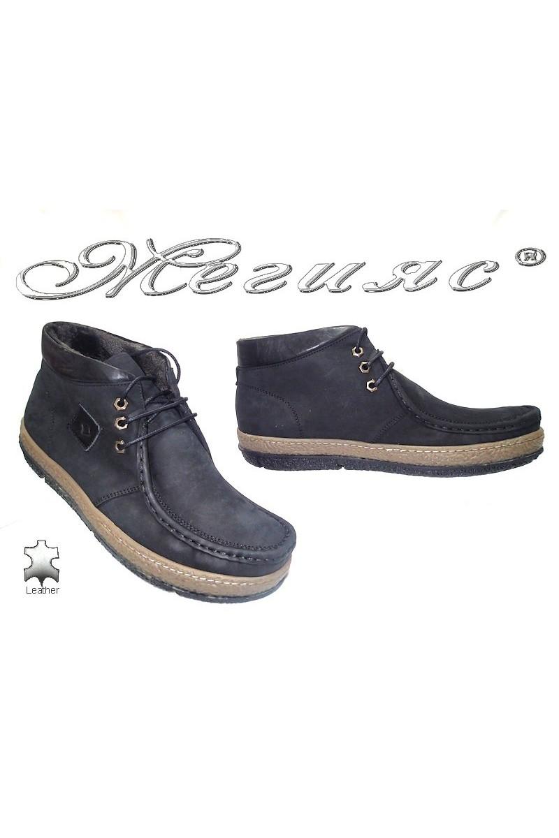 men's boots 700 black suede