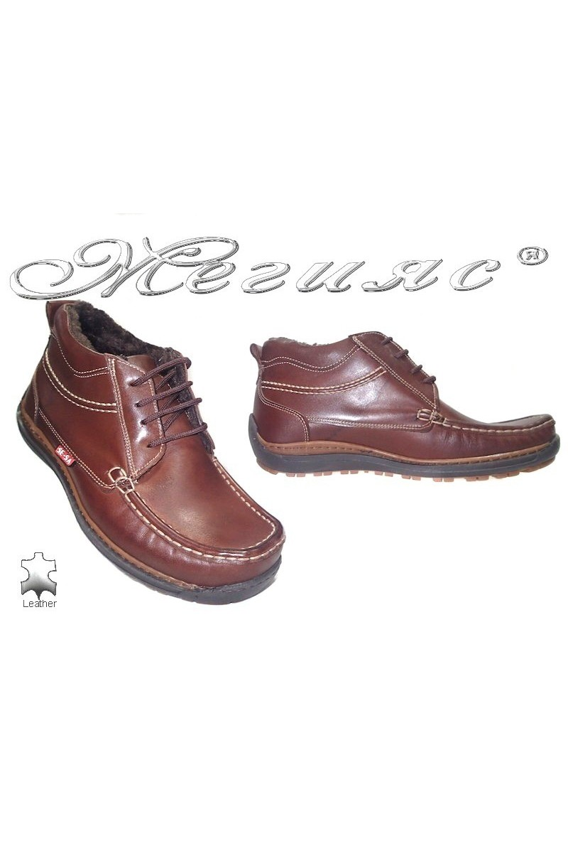 men's boots sensato 03 brown